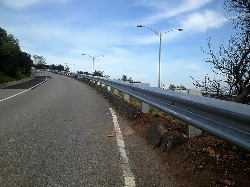 Road Safety Barrier Upgrade