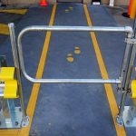 Industrial Guardrail Gate Systems